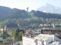 View of Bergisel Innsbruck